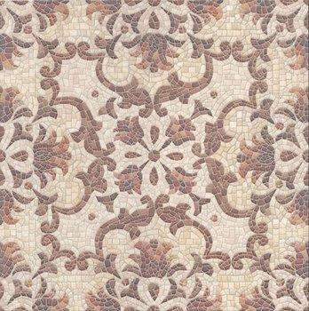 Декор Пантеон ковер центр лаппатированный-5526