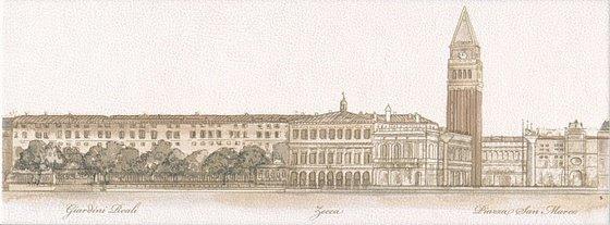 Декор Сафьян Панорама Venezia - главное фото
