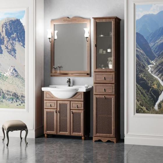 Мебель для ванной Тибет 70 Орех антикварный Opadiris - главное фото