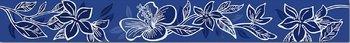 Elissa Blu Fiore бордюр -10200