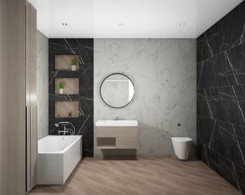 Дизайн-проект «Calacatta Black»-20462