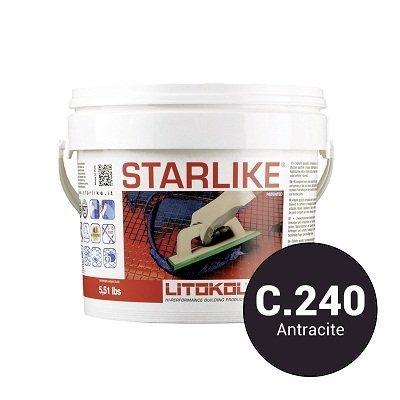 Эпоксидная затирка Starlike C.240 Anthracite 2,5 кг - главное фото