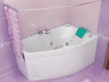 Акриловая ванна Triton Лайма (левая)-10774