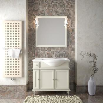 Мебель для ванной Санрайз 90 правый Слоновая кость Opadiris-10886