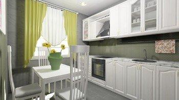 Дизайн-проект «Кухня в Миланском стиле»-16315