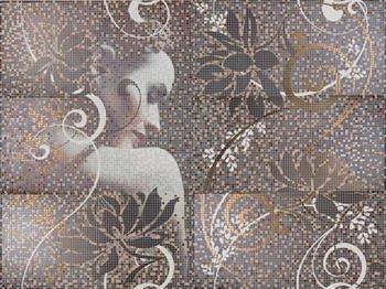 Mural Lola декор (из 6 шт. 25*50) -14234
