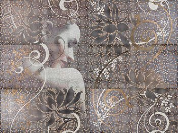 Mural Lola декор (из 6-ти плиток 25х50) -14234