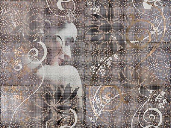Mural Lola декор (из 6-ти плиток 25х50)  - главное фото