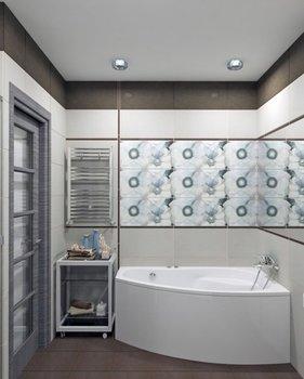 Акриловая ванна Triton Бриз (правая)-10672