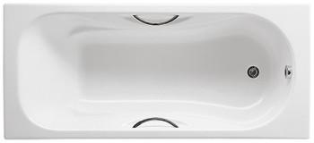 Чугунная ванна Roca Malibu 160х75 с отверстиями для ручек-17955