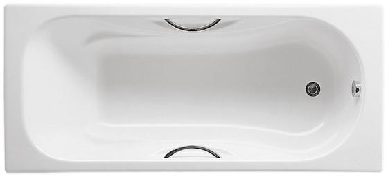 Чугунная ванна Roca Malibu 160х75 с отверстиями для ручек - главное фото