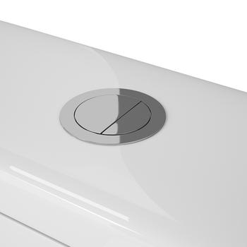 Бачок унитаза-компакта OWL Vind Cirkel-G, двойной слив 3\6л, арматура WDI-19367