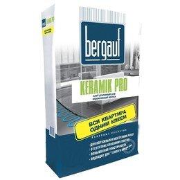 """Бергауф Keramik Pro 25кг клей для плитки усиленный используется в систему """"теплый пол"""""""
