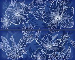 Elissa Blu Fiore панно из 2 частей