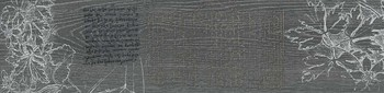 Абете серый тёмный обрезной декор 2-17459