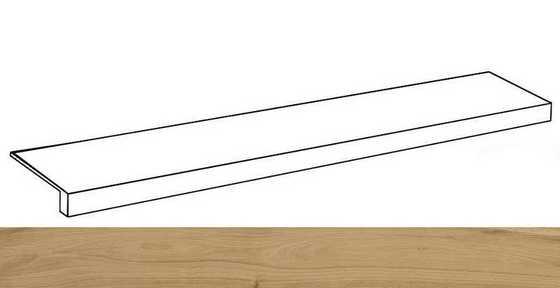 Лофт Хани ступень фронтальная 33х160 - главное фото