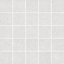 Декор мозаичный Безана серый светлый
