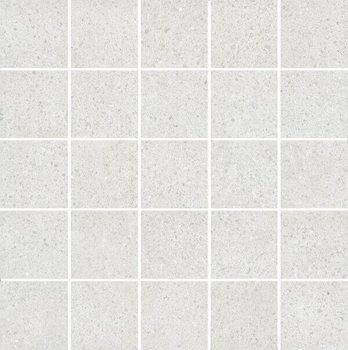 Декор мозаичный Безана серый светлый-12227