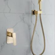 Встроенный гигиенический душ A7203-4 бронза Faop -11040