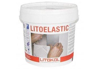 LITOELASTIC Реактивный двукомпонентный эпоксидно-полиуретановый клей для укладки всех видов плитки 5 кг.-9902
