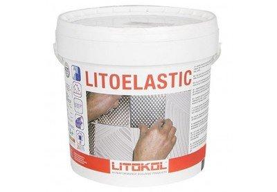 LITOELASTIC Реактивный двукомпонентный эпоксидно-полиуретановый клей для укладки всех видов плитки 5 кг.