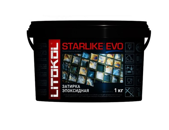 Эпоксидная затирка STARLIKE EVO cacao (S.230) 1 кг - главное фото