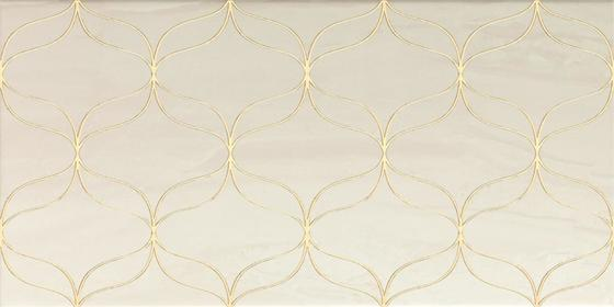 Ethereal Gold Geometric Decor Light Beige Glossy - главное фото