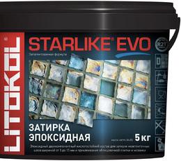 Эпоксидная затирка STARLIKE EVO grigio piombo (S.120) 5 кг