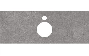 Спец. изделие декоративное для накладных раковин Фондамента серый-14280