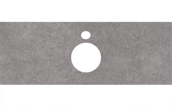 Спец. изделие декоративное для накладных раковин Фондамента серый - главное фото