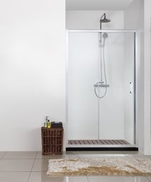 Душевая дверь в нишу LINE, BD120.4101A