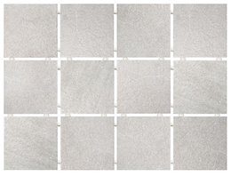 Караоке серый, полотно 30х40 из 12 частей 9,9х9,9