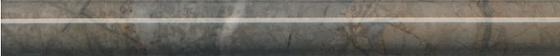 Бордюр Театро коричневый обрезной - главное фото