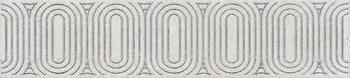Бордюр Безана серый светлый обрезной-17629