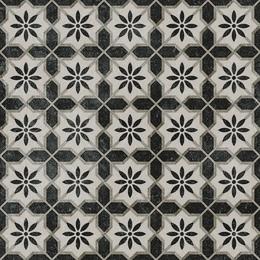 Декор Фреджио 1 черно-белый
