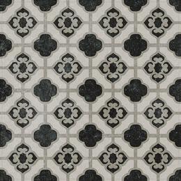 Декор Фреджио 3 черно-белый