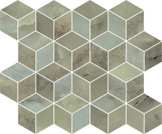 Декор мозаичный Джардини зеленый - главное фото