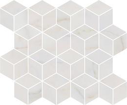 Декор мозаичный Греппи белый