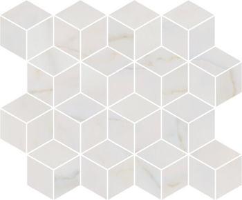 Декор мозаичный Греппи белый-17664