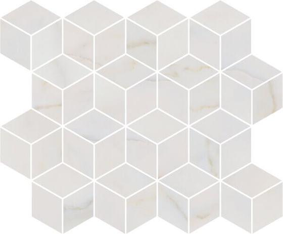 Декор мозаичный Греппи белый - главное фото