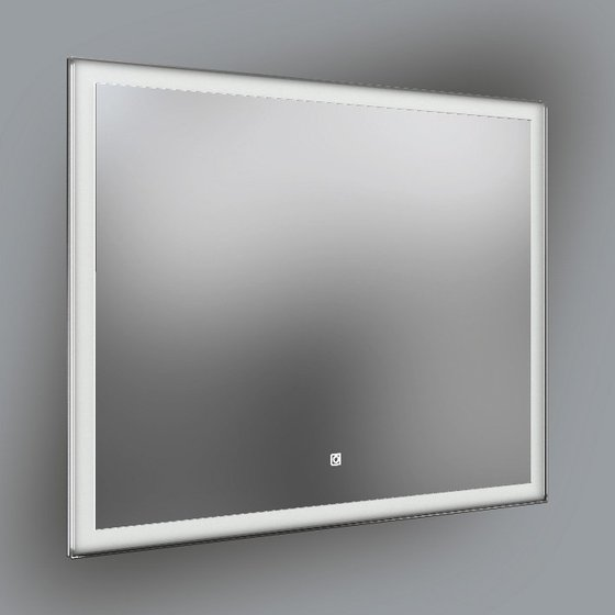 Панель с зеркалом (LED) 100x80см - главное фото