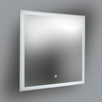 Панель с зеркалом (LED) 80x80-9140