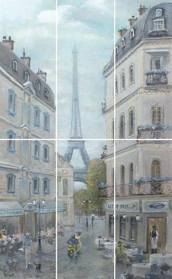 Панно Кантри Шик Париж - главное фото