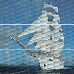 Панно Майори Корабль обрезной