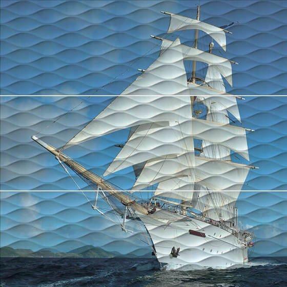 Панно Майори Корабль обрезной - главное фото