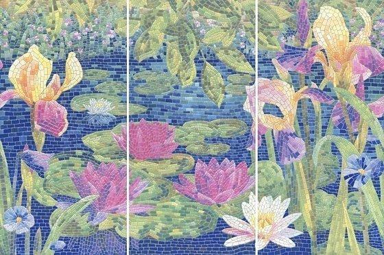 Панно Сад Моне лаппатированный - главное фото