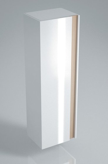 Пенал BUONGIORNO 150 см, белый - главное фото
