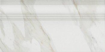 Плинтус Прадо белый обрезной-4290