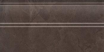 Плинтус Версаль коричневый обрезной-5434