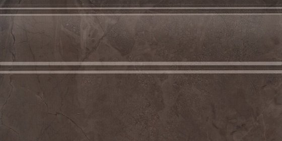 Плинтус Версаль коричневый обрезной - главное фото